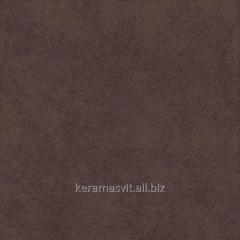 He tile of InterCerama SLATE dark is brown 43x43