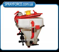 Mixer of working Quadra 35, Polmac liquid