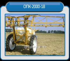 Hook-on sprayer OPK-2000-18 21