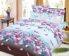 Bed tkan70441-02 Colour of cherry