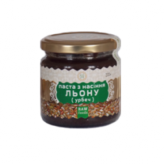 Paste from seeds of flax 200 of