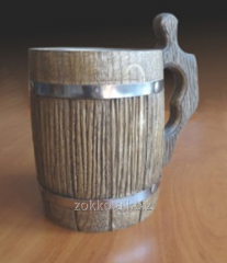 Beer mug with a metal.vkladka, an art. ZKP 03