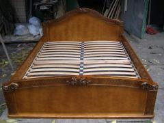 """Bed carved """"Lyudmila"""","""