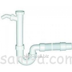 Pipe siphon for sinks with gofrootvody Viega 1 1/2