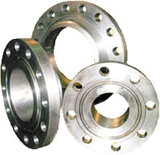 Flanges steel for machines and mechanisms.