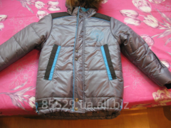 Tailoring of children's jackets. Tailoring by