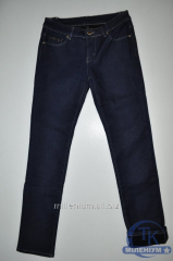 NewJeans джинсы женские на флисе размер 28-33