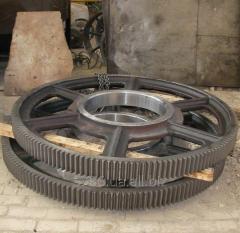 Let's make gear wheels cylindrical diameter