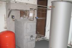 Heataccumulator of 500 liters