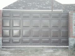 Ворота филенчатые под автоматику