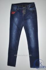 Джинсы женские на флисе размеры 28-33 NewJeans