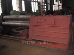 Car listogibochny three-roll (rollers) IB 2222