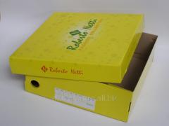 Обувная коробка с отделной крышкой