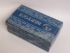 Box for packaging of footwear
