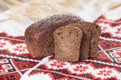 Borodino bread from germinated grains of whea