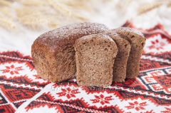 Ukrainian bread from germinated grains of whea