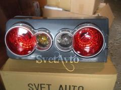 Модульные задние фонари на ВАЗ 2106 (карбон)