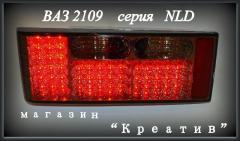Диодные задние фонари на ВАЗ 2109 Глаза паука