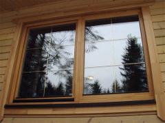 Eurowindows wooden