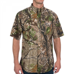 Shirt for hunting with short sleeve of Beretta AP