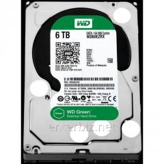 Drive HDD SATA 6.0Tb WD, 64Mb, Caviar Green