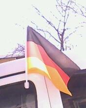 Автомобильные флаги с нанесением рисунка под заказ