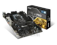 Системная плата MSI Z170-A Pro Socket 1151, код