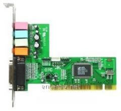 C-Media 8738 4ch PCI sound card, code 1031
