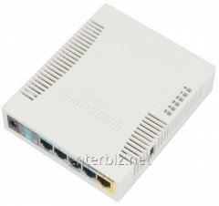 Wireless router of MikroTik RB951Ui-2HND (N300,