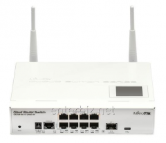 MikroTik CRS109-8G-1S-2HnD-IN router (8x1Gb, 1x1Gb