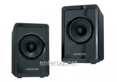 Speakers USB Konoos KNS-PU30 Black, code 44689