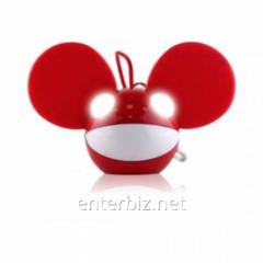 Колонка KitSound Deadmau5Portable Speaker Red