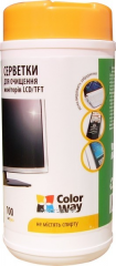 Disk cleaning CW-1071 + wipes for LCD and TFT