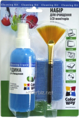 Cleaning Kit (CW-1031) set 3 in 1, for monitors,