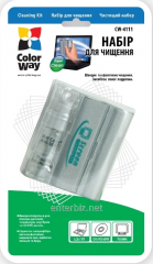 Cleaning Kit (CW-4111) CD. Microfiber and spray