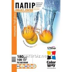 Photo paper glossy CW 180 g/m2, 10 x 15, 100 l
