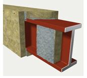 Плита огнезащитная для изоляции конструкции из