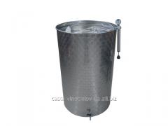 Ёмкость нерж. Для вина с пневматической плавающей крышкой, 600 литров, италия
