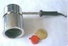 PVC-MANOMASTER. The device of shrinkage of pvc