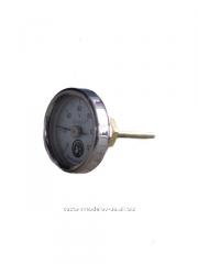 Круглый аналоговый термометр для монтажа в шлем аламбика (0⁰-120⁰), диаметр 5 см, нерж.сталь
