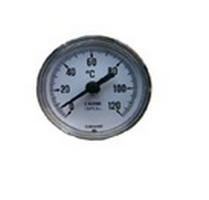 Круглый аналоговый термометр для монтажа в шлем аламбика (0⁰-120⁰), диаметр 6,5 см, нерж.сталь