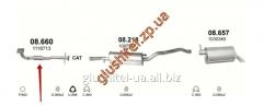 Pipe receiving Ford Galaxy 2.3i - 16V 00-02 08.660