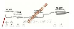 Pipe receiving Mazda 626 2.0i - 16V 97-04 12.207