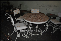 Furniture: table and chairs shod
