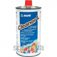 Mapei CLEANER L - the clearing structure for a