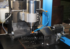 The milling 4-coordinate machine for processing of
