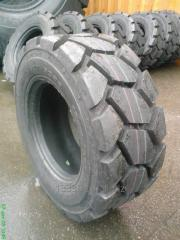 Tires pass loaders excavators of Bobcat, Case,