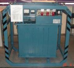 Трансформатор для прогріву бетону ТМОБ-63/0,38-68