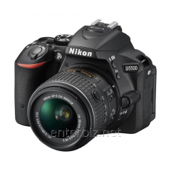 Nikon D5500 SLR camera + 18-55mm VR II Black KIT