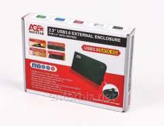 External pocket of USB3.0 for HDD SATA 2,5 AgeStar